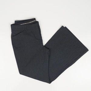 Express Dark Gray Editor Wide Leg Dress Pants 8S
